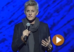 Ellen Degeneres on her TM practice